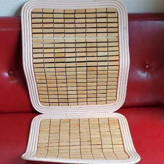 【玄関マットなどに使いませんか】竹マット シートカバー