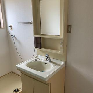 無料!自動水栓洗面化粧台