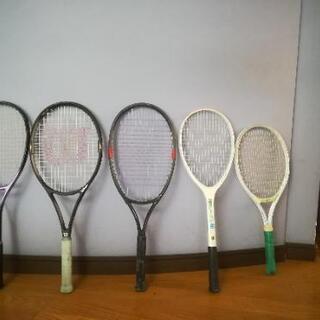 軟式テニスラケット ケースセット