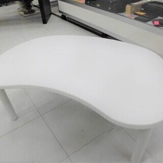 テーブル ニトリ製 ホワイト 幅85x奥行55x高さ35c…