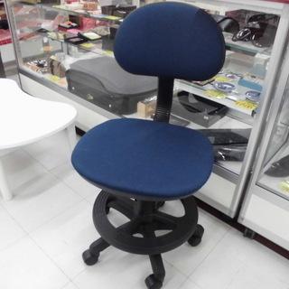 椅子 デスクチェア ブルー 幅x42奥行x50高さx85 …