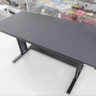 昇降テーブル ブラック 幅120x奥行55x高さ60cm …