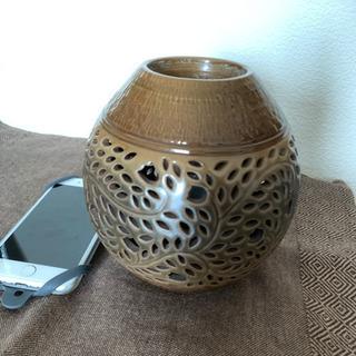 陶器のアロマポット・ライト from鷹歌*台湾窯元の街