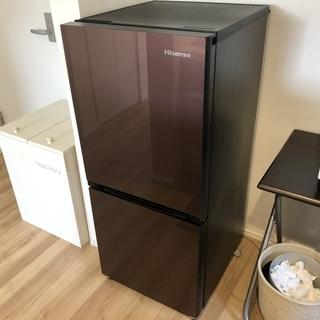 Hisense2ドア冷凍冷蔵庫(134L)を譲ります(買い替えのため)