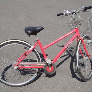 ブリヂストン Albelt アルベルト SQ Tech 27インチ シティサイクル 3段切替 ライト カゴ カギ付き 自転車の画像