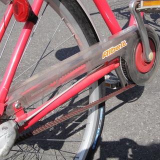 ブリヂストン Albelt アルベルト SQ Tech 27インチ シティサイクル 3段切替 ライト カゴ カギ付き 自転車 - 札幌市