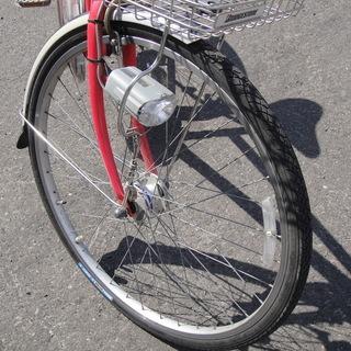 ブリヂストン Albelt アルベルト SQ Tech 27インチ シティサイクル 3段切替 ライト カゴ カギ付き 自転車 - 自転車