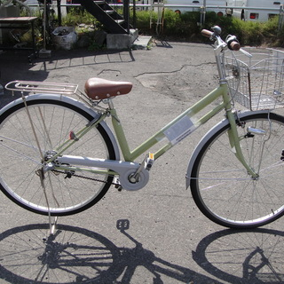 27インチ 3段切替 自転車 シティサイクル ママチャリ 通勤 通学 西友の画像