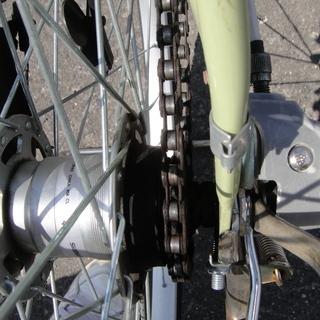 27インチ 3段切替 自転車 シティサイクル ママチャリ 通勤 通学 西友 - 自転車