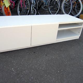 テレビボード 幅120×高さ30×奥行41cm 白 TV台…