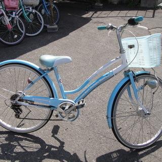 24インチ 自転車 jrサイクル ジュニアサイクル 6段切替 水...