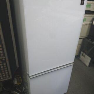超美品!シャープ プラズマクラスター冷蔵庫 SJ-GD14C-W