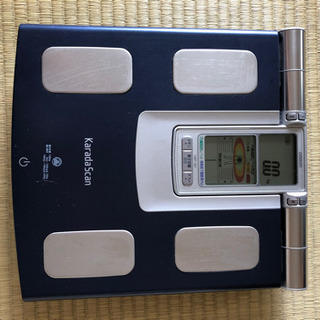 引渡し先決定済)体重・体脂肪計 - 名古屋市