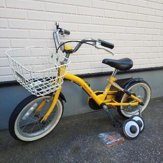 キッズ 自転車 14インチ 補助輪付
