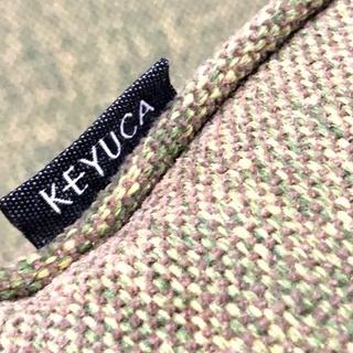 札幌近郊 送料無料 【KEYUCA】ケユカ ソファ 2人掛け 2.5人掛け ワイド 布 北欧スタイル  グリーン ラブソファ - 売ります・あげます
