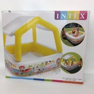 【新品】INTEX 屋根付きプール