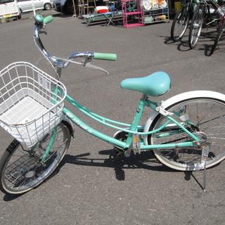 20インチ 自転車 jrサイクル ジュニアサイクル 6段切替 グリーン Stroll 切替なし - 札幌市