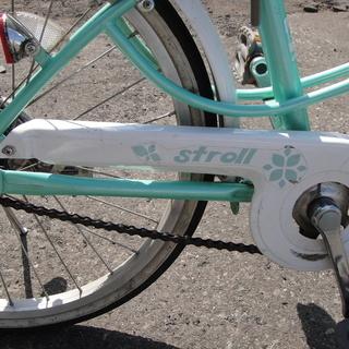 20インチ 自転車 jrサイクル ジュニアサイクル 6段切替 グリーン Stroll 切替なし - 自転車