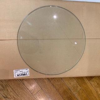 丸ガラス板 3枚