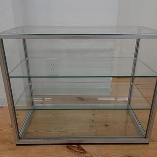 8-014  ガラスケース   コレクションケース  3段