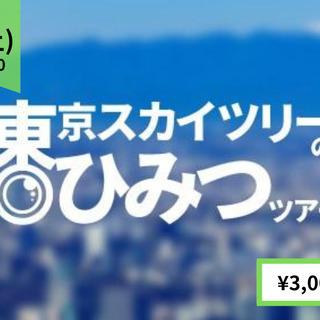 お家から参加!世界一高いタワーから生配信。東京スカイツリー®のひ...