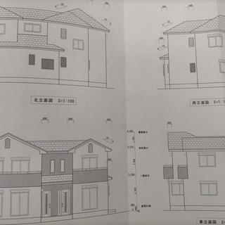 太陽光搭載45坪住宅  2世帯住宅やテレワーク仕事場可能な間取...