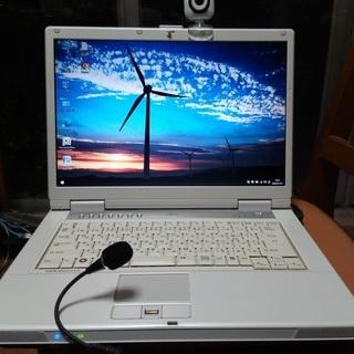 ノートパソコン Fujitsu FMV-BIBLO NF50W ...