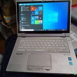 【訳あり快速】PanasonicレッツノートAX Core i5...