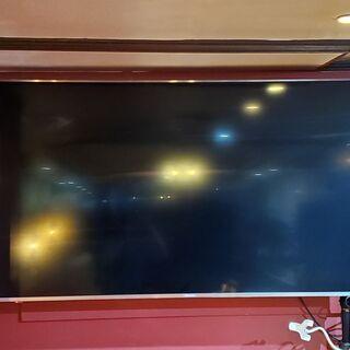 約半年使用の美品! 65インチ大型4Kテレビ + 壁掛けアームセ...