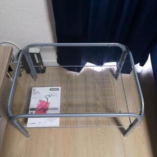 アイリスオーヤマ ガラステーブル ローテーブル