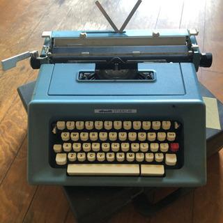 オリベッティ 英文タイプライター イタリア製