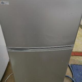 生活家電 サンヨー 2ドア SR-111R-SB 109L 冷蔵庫