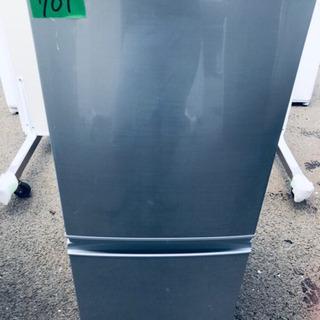 ✨高年式✨701番 シャープ✨ノンフロン冷凍冷蔵庫✨SJ-D14...
