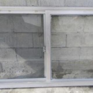 アルミサッシ ガラス窓一式(3点セット)