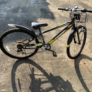 ☆マウンテンバイク自転車26インチ  値下げしました。