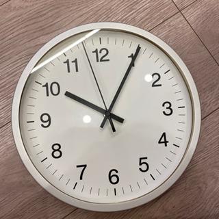 無印良品 壁掛けアナログ時計