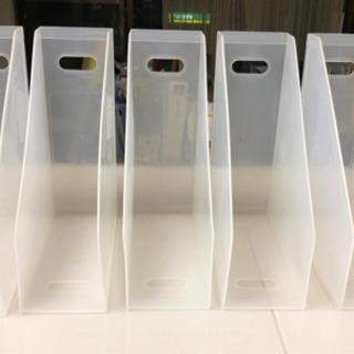 ファイルボックス 5つセット プラスティックケース