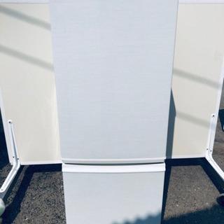 714番 シャープ✨ノンフロン冷凍冷蔵庫✨SJ-17W-W‼️