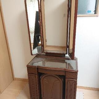鏡台  ドレッサー 三面鏡