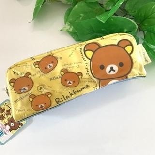1,100円→150円 新品 リラックマ 筆箱 ペンケース ポーチ