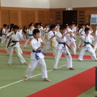 5歳から習える、空手教室 月額¥3500 颯修館