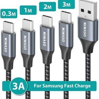 【新品・未使用】USB TYPE-Cケーブル【4本セット】