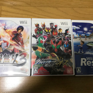 Wiiソフト3枚セット