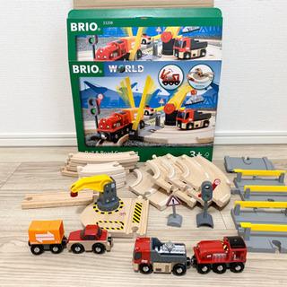 BRIO WORLD レール&ロードクレーンセット (おまけ付き)