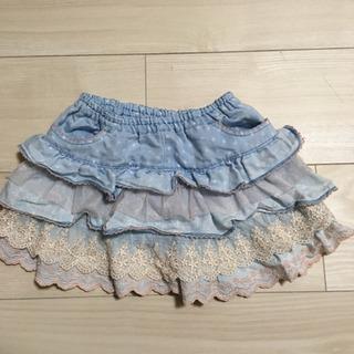 スーリー キュロットスカート 90の画像