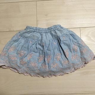 スーリー キュロットスカート 90 水色 - 名古屋市