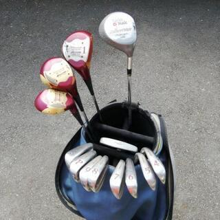 ミズノ TaylorMade ゴルフクラブ フルセット レディース
