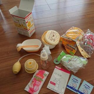 搾乳器、離乳食セットなど