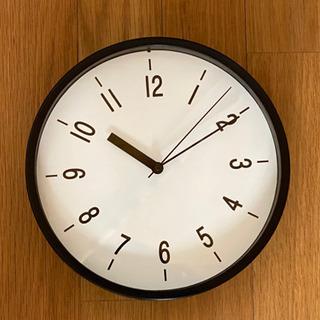 【取引完了】未使用 シンプルな壁掛け時計