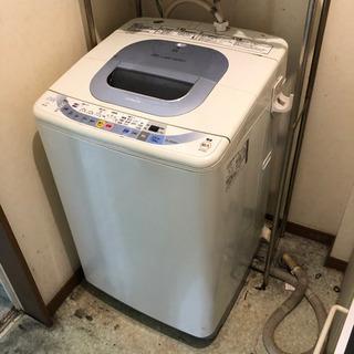 【稼働品】 HITACHI 自動電気洗濯機 NW-7EX 200...